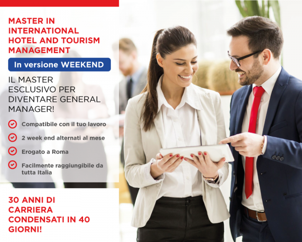 Master Hotel Management a Roma