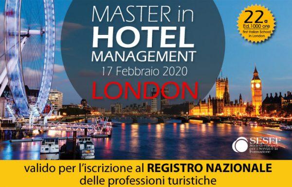 Master Hotel Management a Londra