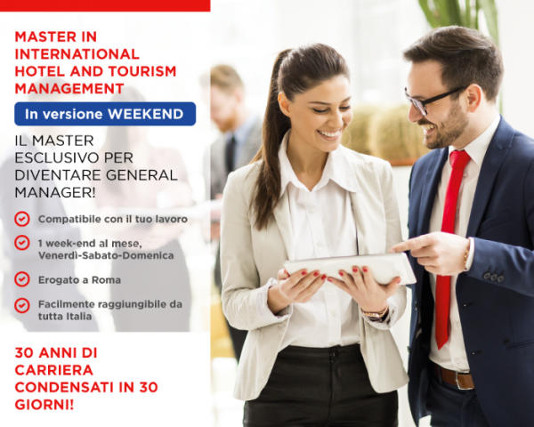 diventare hotel tourism manager - masterclass in hotel management